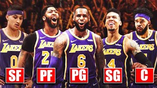 Lakers CONFIRMED Starting Lineup After Training Camp (Ft. LeBron James At PG, Shooters, Chemistry)