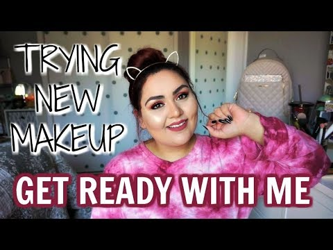 TRYING NEW MAKEUP || CHIT CHAT GRWM