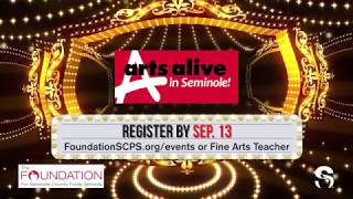 Audition for Arts Alive in Seminole! 2018