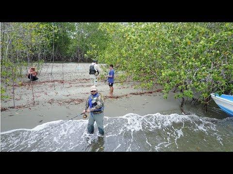 Outdoors TV Costa Rica - Buscando al Pez Sierra en Sierpe de Osa