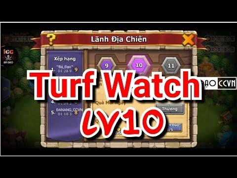 Guild Turf Watch Lv10 - Lãnh Địa Chiến Thử Ải Tầng 10 Và Cái Kết - Castle Clash Việt Nam