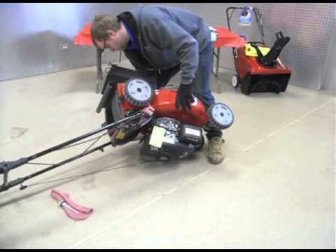 How to change your lawn mower oil toro residential push for Best motor oil for lawn mowers