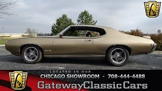 1969 Pontiac Lemans Gateway Classic Cars Chicago #1315