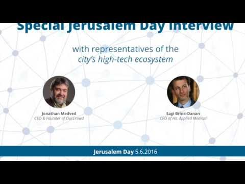 Jerusalem Day interview: Jon Medved hosts Sagi Brink-Danan, CEO of HIL Applied Medical