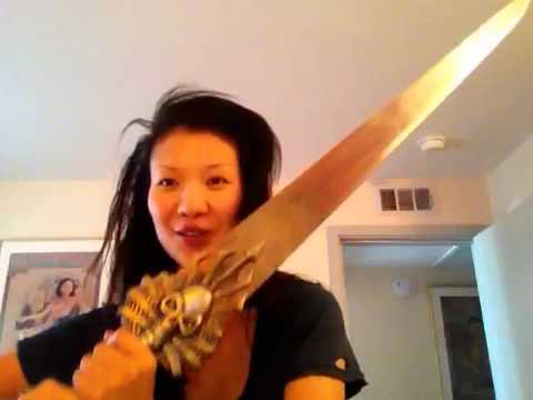 Gwendoline Yeo Paine Sword from killer  Jennifer Tidwell
