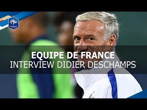 "Equipe de France : ""La Grande Interview avec..."" Didier Deschamps I FFF 2017"