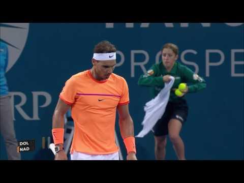 Nadal v Dolgopolov highlights (1R)  | Brisbane International 2017