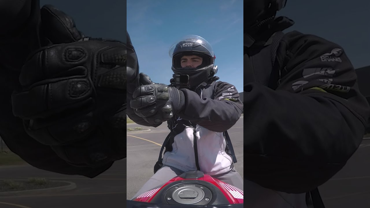 How to WHEELIE a motorcycle in under 60 seconds #shorts
