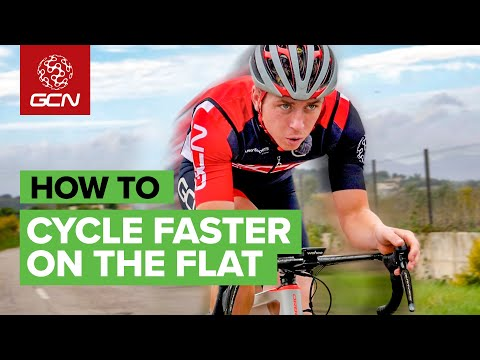 How To Cycle Faster On The Flat