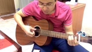 Gia sư dạy Guitar đệm hát tự tin sau 10 buổi - Diễm Xưa (học viên cover)