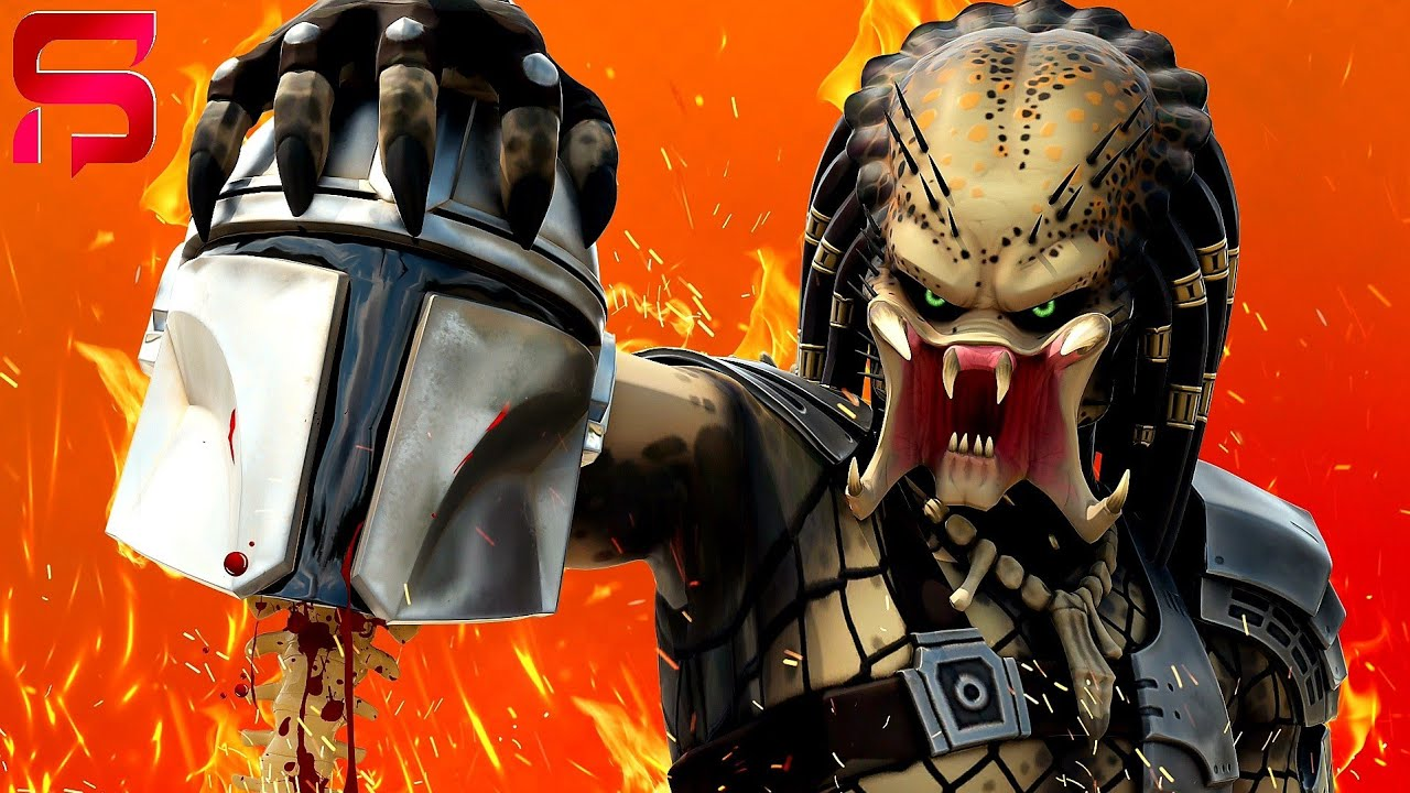 The PREDATOR IS HUNGRY FOR BLOOD.... ( Fortnite Short )