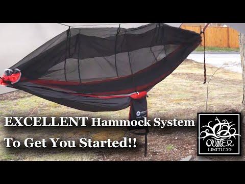 Wanna Start Hammock Camping??  Easthills Outdoors Jungle Explorer Hammock