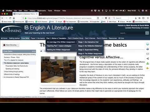 IB English A Literature