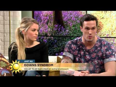 Deras son har Downs syndrom: 'Vår vardag är som alla andras' - Nyhetsmorgon (TV4)