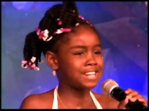10 years old Nia Allen- Queen Ifrica-Daddy