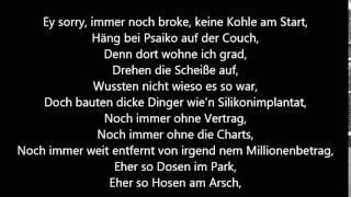 Cro - Erinnerung Lyrics