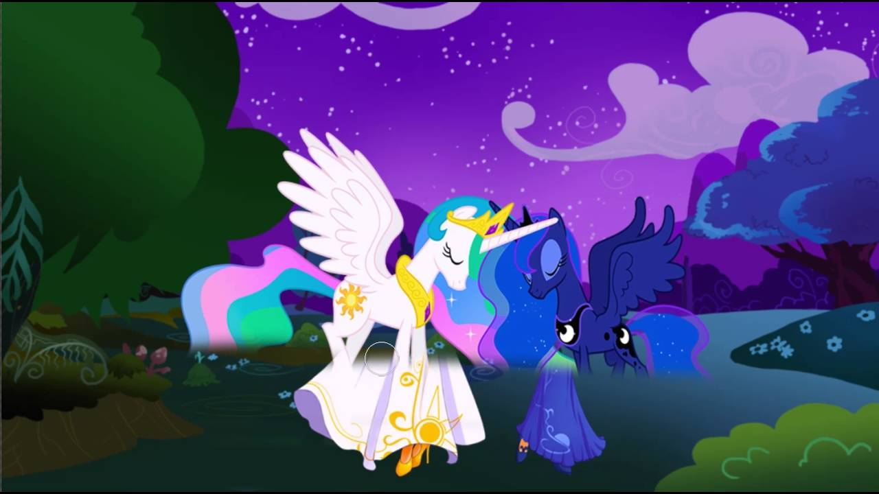 My Little Pony Transforms Princesses Luna Celestia Into