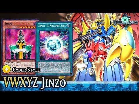 VWXYZ Dragon Catapult Cannon Ft. Jinzo!   Yu-Gi-Oh! Duel Links