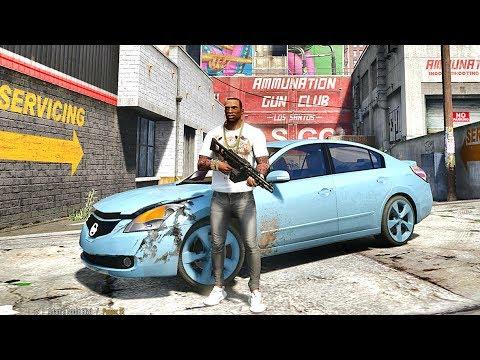 GTA 5 REAL LIFE CJ MOD #77 - AIN'T NUTHING BUT A G THANG !!!(GTA 5 REAL LIFE MODS/ THUG LIFE)