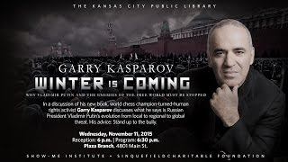 Garry Kasparov - November 11, 2015
