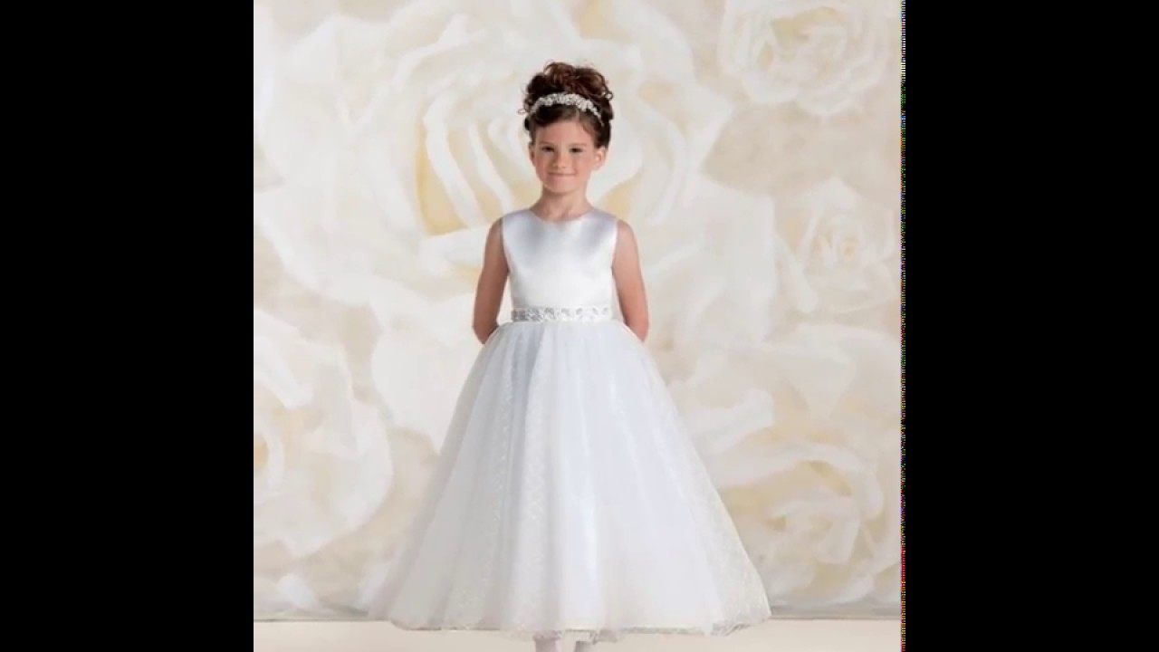Communion Dress Style JC_115320W - YouTube