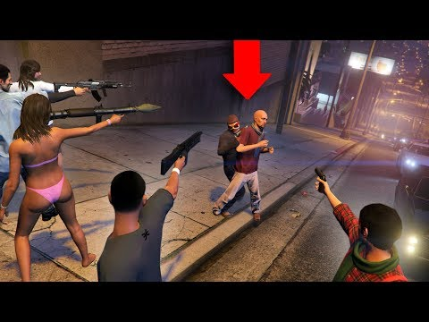 CAN YOU SURVIVE THE PURGE IN GTA 5?! thumbnail