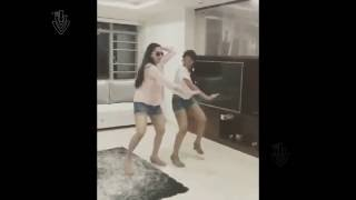 Actress Surekha Vani and Her Daughter Dance Hungama in House | Actress Viral Videos