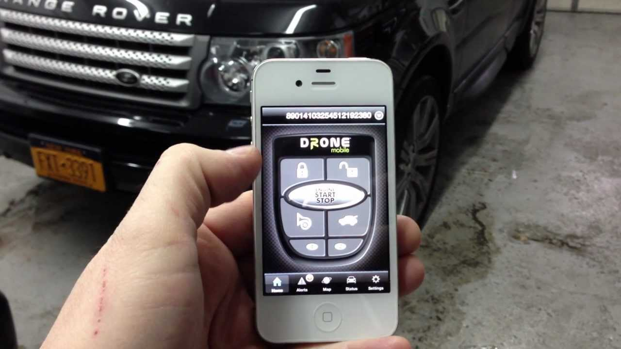 Remote Starter Drone Iphone Range Rover Sport Youtube