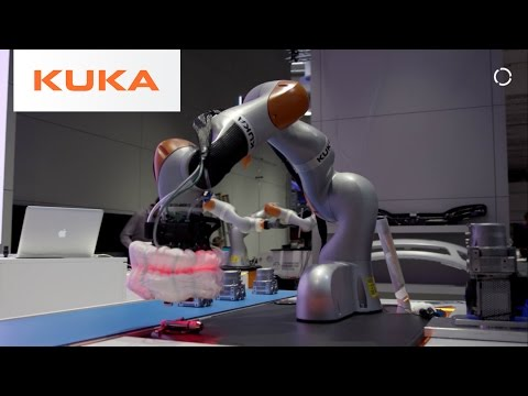 Robotic Airbag System - Winner of KUKA Innovation Award 2017