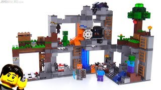 LEGO Minecraft The Bedrock Adventures review! 21147
