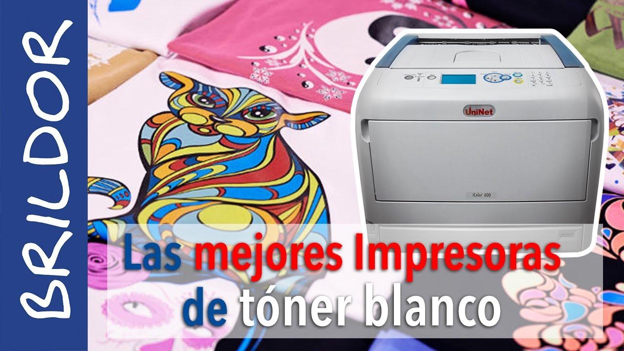 Las MEJORES impresoras láser de TÓNER BLANCO: iColor de Uninet - YouTube
