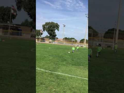 Goal Saul from SaulTubeHDTV - Albion SC Academy