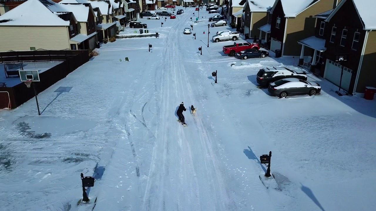 Snow Day Clarksville Tennessee 1/12/18