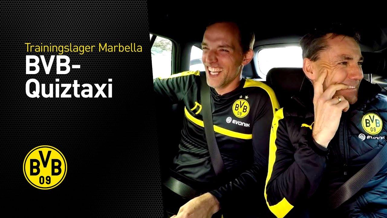 BVB-Quiztaxi in Marbella 2017 | Special-Edition | Thomas Tuchel & Arno Michels