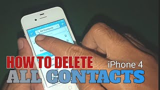 iPhone 11 : How to Delete Contacts from iPhone 11 / Pro / Pro Max.