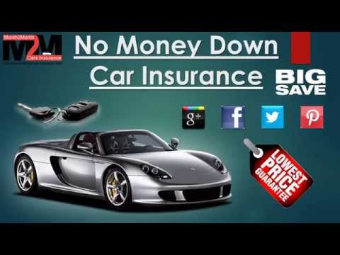 auto insurance no money down youtube. Black Bedroom Furniture Sets. Home Design Ideas