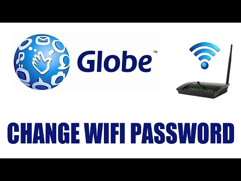 How to Change Globe Internet Router Wifi Password