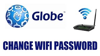 How to Change Globe Internet Router Wifi Password using the H5004NK...