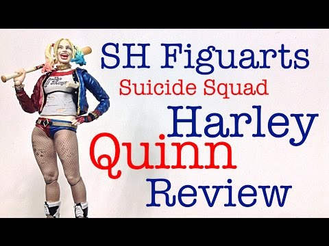 Bandai Tamashii Nations SH Figuarts Suicide Squad HARLEY QUINN Action Figure Review