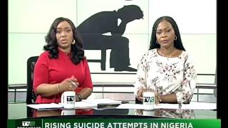 Gambar cover Talk Time| Rising suicide attempt in Nigeria| TVC News