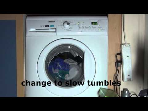 Zanussi Aqua Fall ZWHB7160 Washing Machine : Cotton Eco Standard A+++ 60'c (Full cycle 3 hours 56)