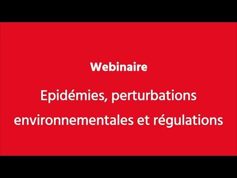 Webinaire - Epidémies, perturbations environnementales et régulations