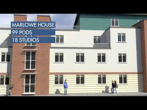 Promotional video from #Canterbury Student Village's website