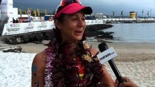 Rachel Joyce Post-race