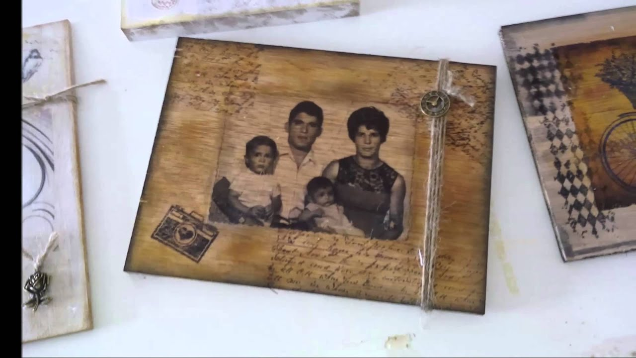 foto transfer sobre madera youtube