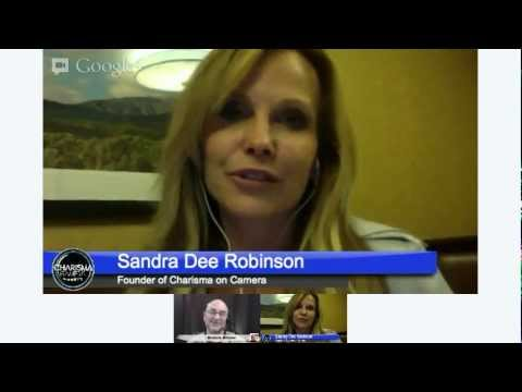 Getting Camera Ready for Hangouts with Sandra Dee Robinson