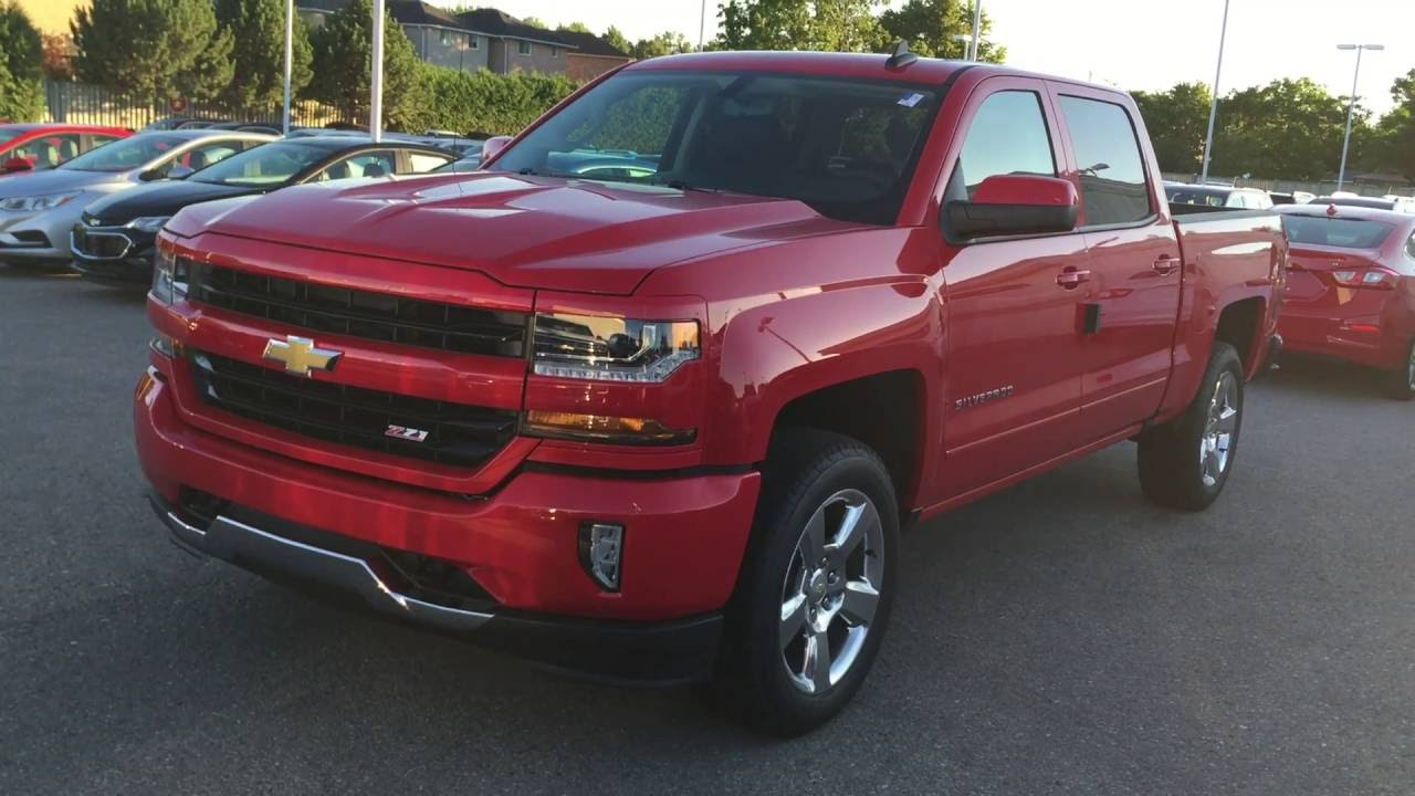 2017 chevrolet silverado 1500 4wd crew cab lt red hot roy nichols motors courtice on youtube. Black Bedroom Furniture Sets. Home Design Ideas
