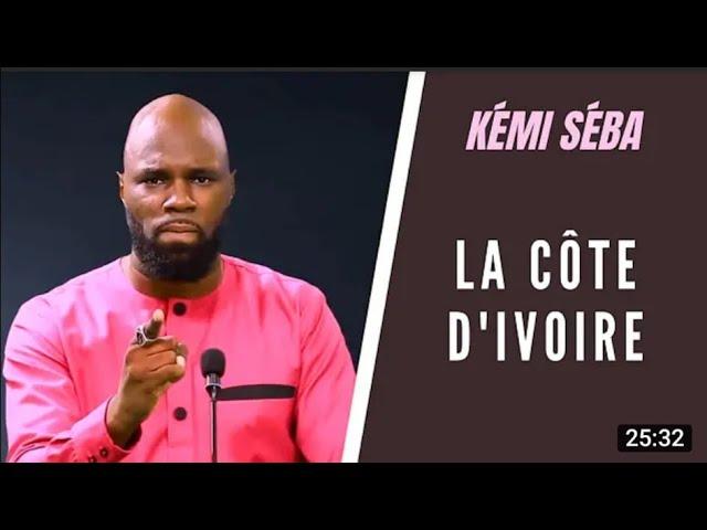 KEMI SEBA: COTE D'IVOIRE , CONTEXTE DE CRISE, EPILOGUE ET PERSPECTIVES
