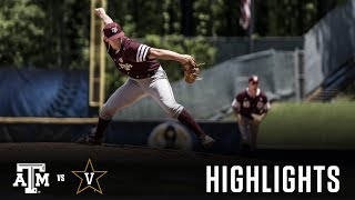 Baseball: Highlights | A&M 3, Vanderbilt 1