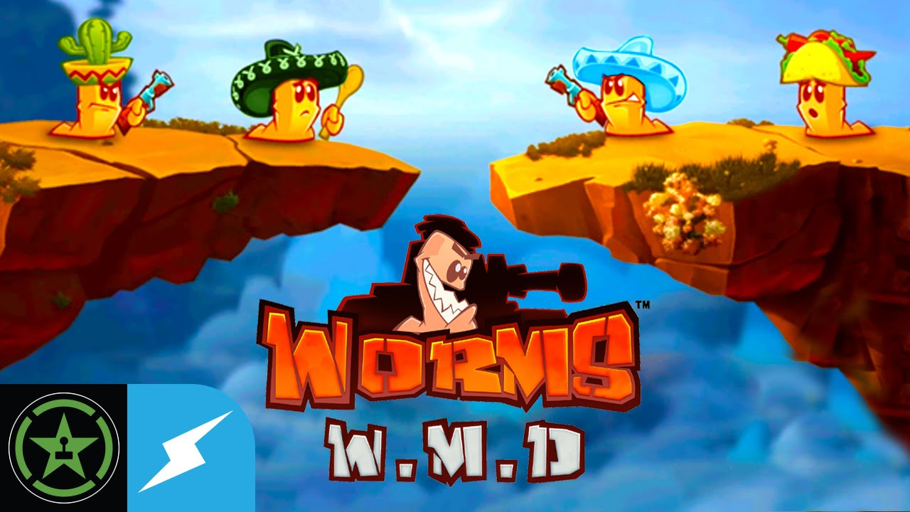 Let's Play - Worms W.M.D. Stream